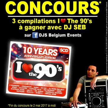 Concours Dj Seb -  i love the 90 s