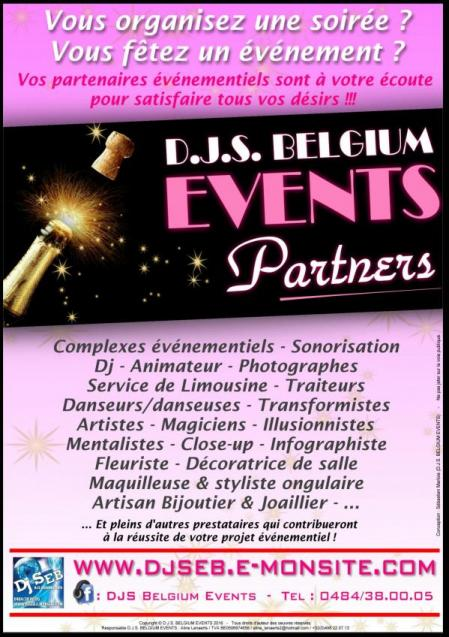 D.J.S. BELGIUM EVENTS PARTNERS
